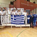 Ασταμάτητη η ελληνική αποστολή στο WKB Spanish Open 2019 – Kumite & Kata Championships