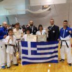 """Ανάμεσα στους τρεις καλύτερους της Ευρώπης οι αθλητές της """"PAPAPOULIOS BUDOKAI FIGHTERS"""""""