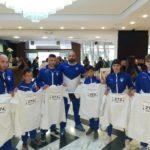 Η ελληνική αποστολή της WKB Hellas (με επικεφαλής τον Sensei Ιωάννη Παπαπούλιο 4 dan) βρίσκεται στην Ισπανία για το 3 Πανευρωπαϊκό Πρωτάθλημα Kyokushin Budokai