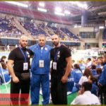 Κοντά στην εθνική ομάδα jiu-jitsu οι sensei Ιωάννης Παπαπούλιος και Κωνσταντίνος Γαλλιός – Παρακολούθησαν τις επιδόσεις στο παγκόσμιο και βαλκανικό πρωταθλήματα