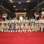 3 εξεταστική περίοδος έγχρωμων ζωνών στην «Papapoulios Budokai Fighters»